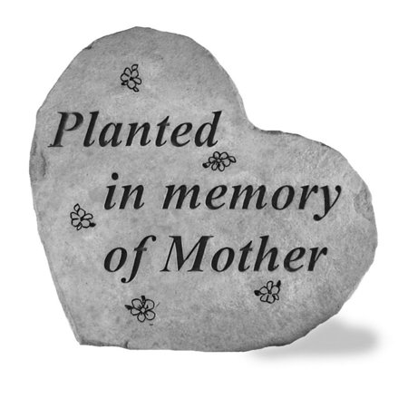Planted In Memory Of Mother Memorial Stone Marker Memorial Stone Marker
