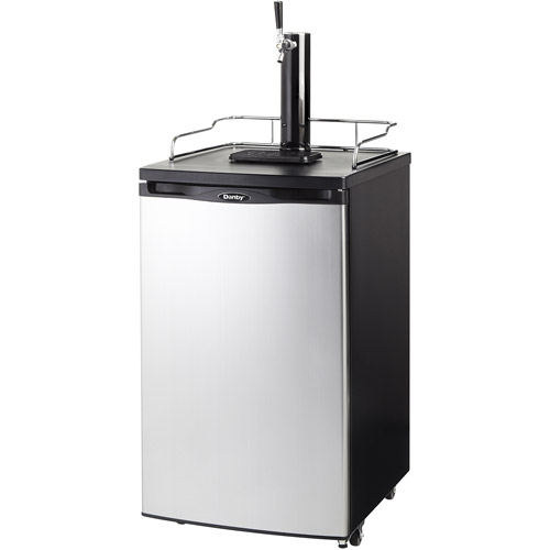 Danby 5.2-cu-ft Beer Dispenser & Cooler for 1/2 and 1/4 Kegs