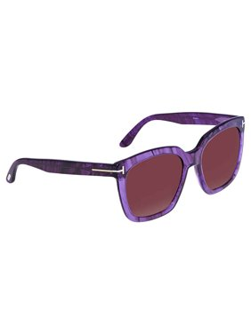 0152840318 Product Image Tom Ford Amarra Square Sunglasses FT0502 83T