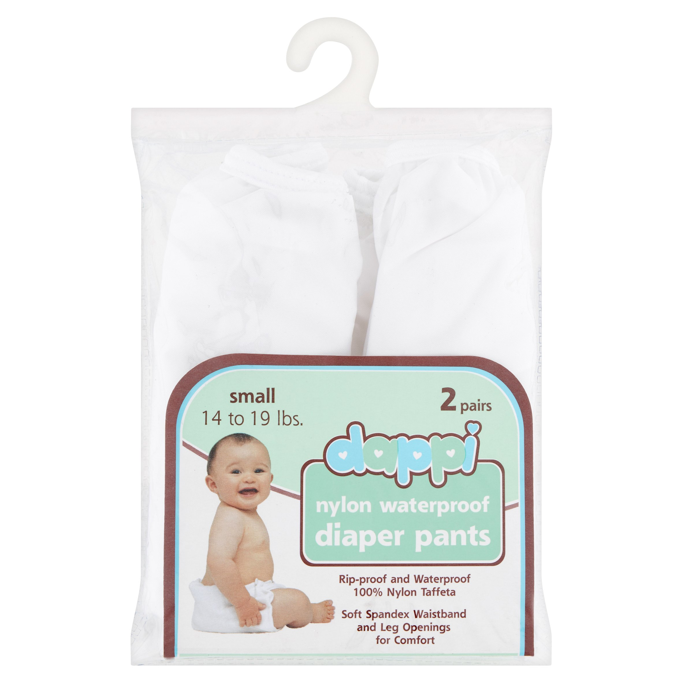 Dappi Nylon Waterproof Diaper Pants (Choose Size)