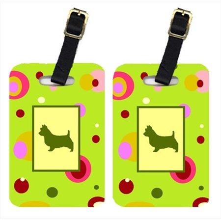 Carolines Treasures CK1009BT Australian Terrier Luggage Tag - Pair 2, 4 x 2.75 In. - image 1 de 1
