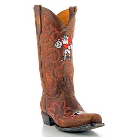Gameday Boots Mens Brass Leather University Of Georgia