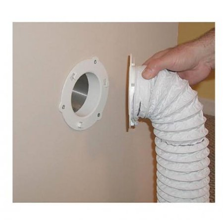 Dryer Dock Dryer Vent 6  for 4  Tubes, White Dryer Dock Dryer Vent 6  for 4  Tubes, White