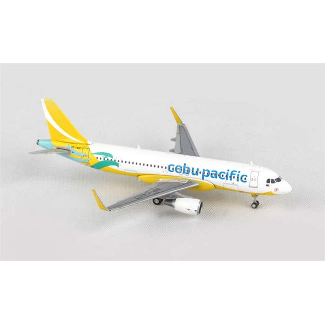Gemini Jets GJCEBU4320 Cebu Pacific A320S 1-400 New Livery Registration No RP-C4107 - image 1 de 1