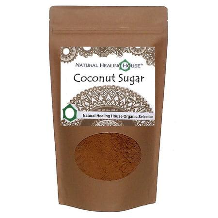 Coconut Palm Sugar 16 Oz By Natural Healing House