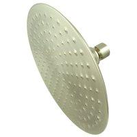 """Elements Of Design DK1368 Satin Nickel 7-3/4"""" Brass Rain Shower Head"""