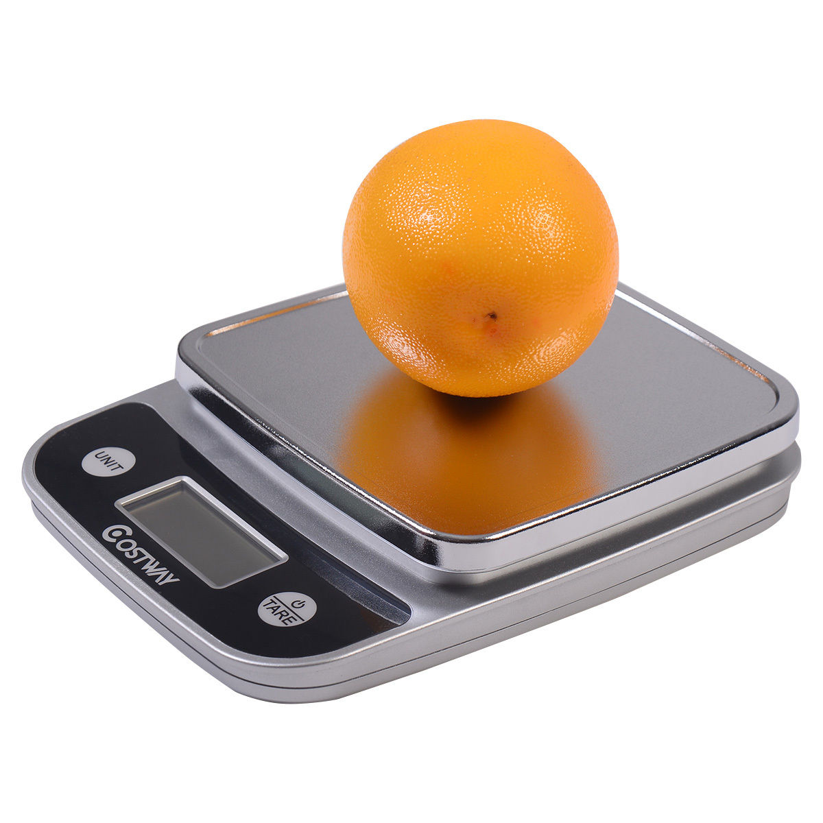 Costway 11lb x 0.04oz LCD Digital Kitchen Weight Scale 5Kg x 1g Food Diet Postal Slim
