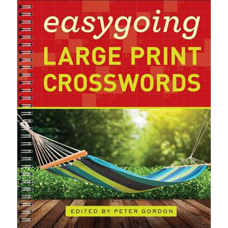 Easygoing Large Print Crosswords - Halloween Crossword Puzzles For Adults