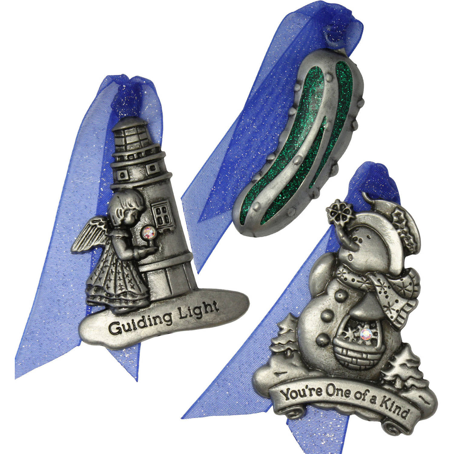 Gloria Duchin Legends of Christmas Ornaments, Set of 6
