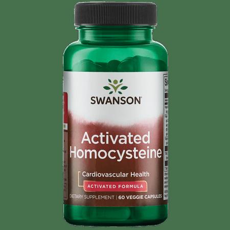 Swanson Activated Homocysteine 60 Veg Caps