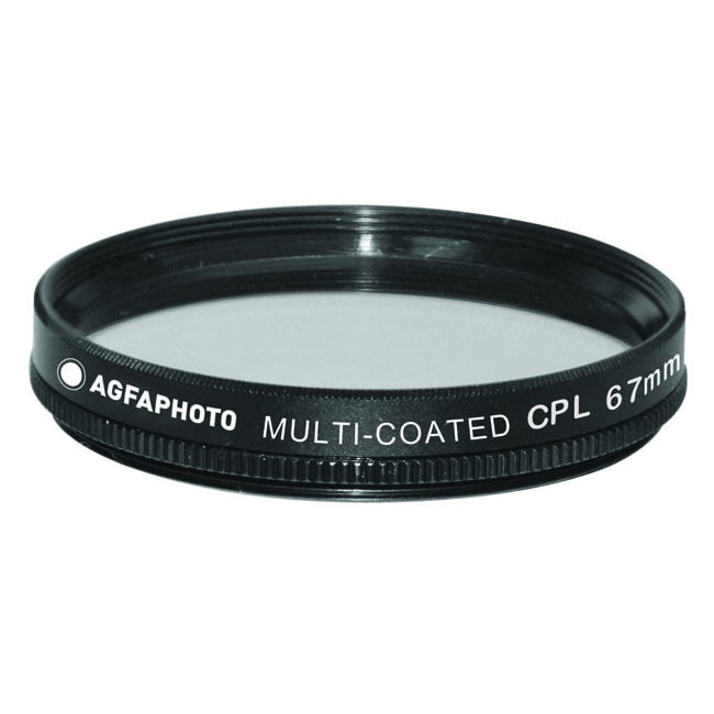 Agfa Photo 67mm Multi Coated Circular Polarizer Filter by pousch