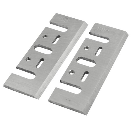 Unique Bargains Unique Bargains 2 Pcs HSS Electric Planer Blades Cutter New for Makita 1900B