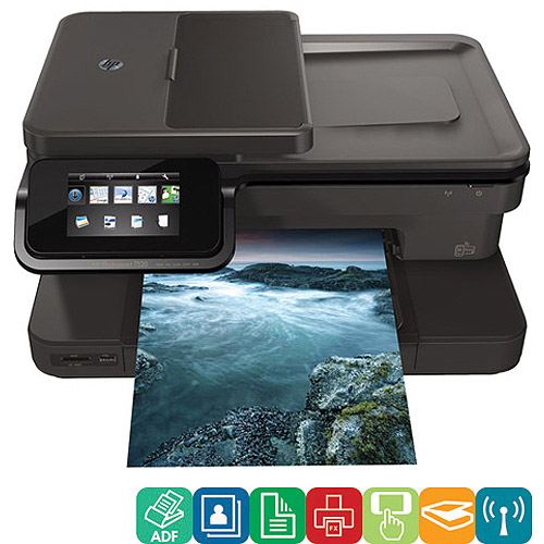 HP Photosmart 7520 All-In-One Inkjet Printer/Copier/Scanner/Fax Machine