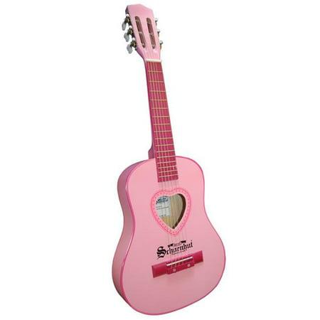 Schoenhut 605P 6 String Guitar- metal strings- Pink