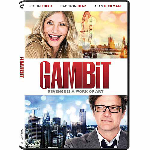 Gambit (2012) (DVD+ Digital HD) (With INSTAWATCH) (Anamorphic Widescreen)