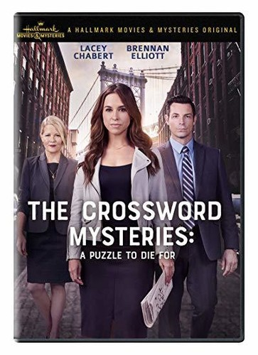 Crossword Mysteries A Puzzle To Die For Dvd Walmart Com Walmart Com