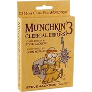 Munchkin 3 - Clerical Errors By Steve Jackson Games