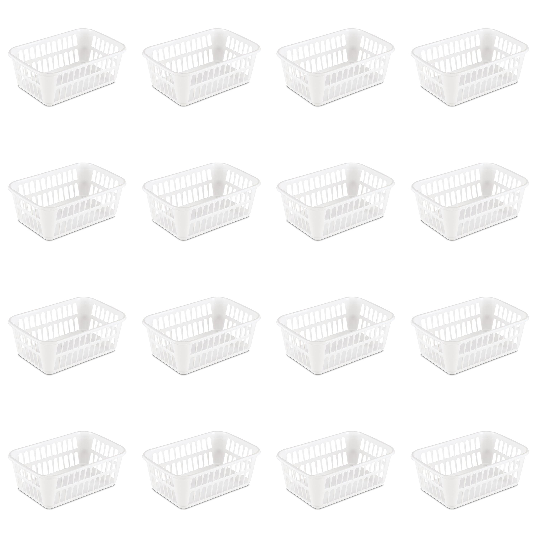 Sterilite, Storage Basket, Case of 16