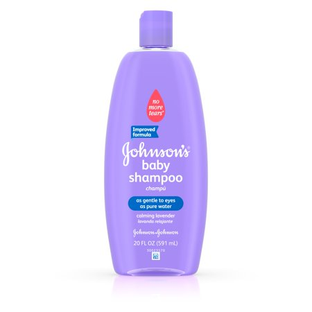 Johnsons Baby Shampoo With Calming Lavender For Shiny Hair  20 Fl  Oz