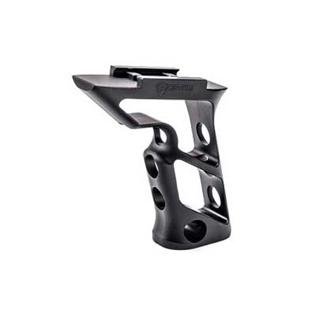 Fortis Manufacturing  Inc  Shift Vertical Grip  Standard  Black Anodized Finish