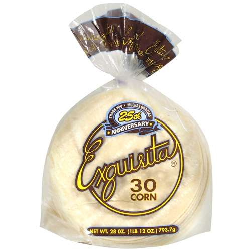 Exquisita Corn Family Pack Tortillas, 30 ct