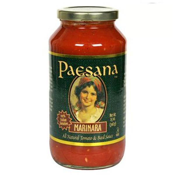 Paesana Marinara Sauce 25 oz Jars - Pack of 3