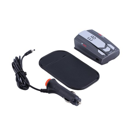 E8 360  Electronic Abs 2 4Ghz410mhz Full Band Scanning Voice Anti Police Gps Radar Detector X K Ku Ka