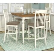 5-Pc Square Pub Height Dining Set
