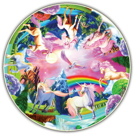 Image of A Broader View's Kids' Round Table - Unicorn Bliss by Michael Searle (50-piece)
