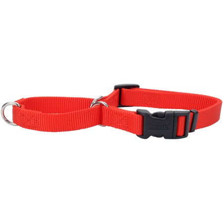 "No! Slip Martingale Adjustable 3/4"" Collar W/Buckle 18""-22""-Red - image 1 de 1"
