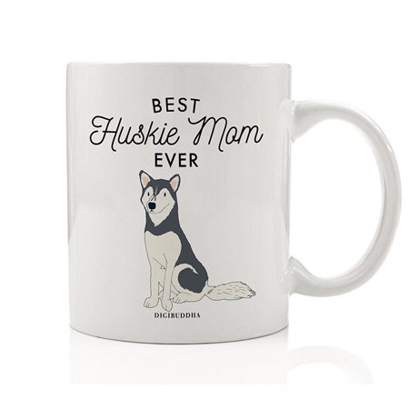 Best German Shepherd Mom Ever Mug Gift Idea Adopted Family Pet Rescue Dog Mommy Mother Mama Loves Our GSD 11oz Ceramic Coffee Tea Cup Christmas Birthday Mother's Day Present by Digibuddha