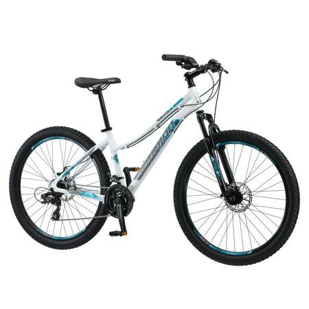Schwinn Aluminum Comp Mountain Bike, 27.5-inch wheels, womens frame, white ()