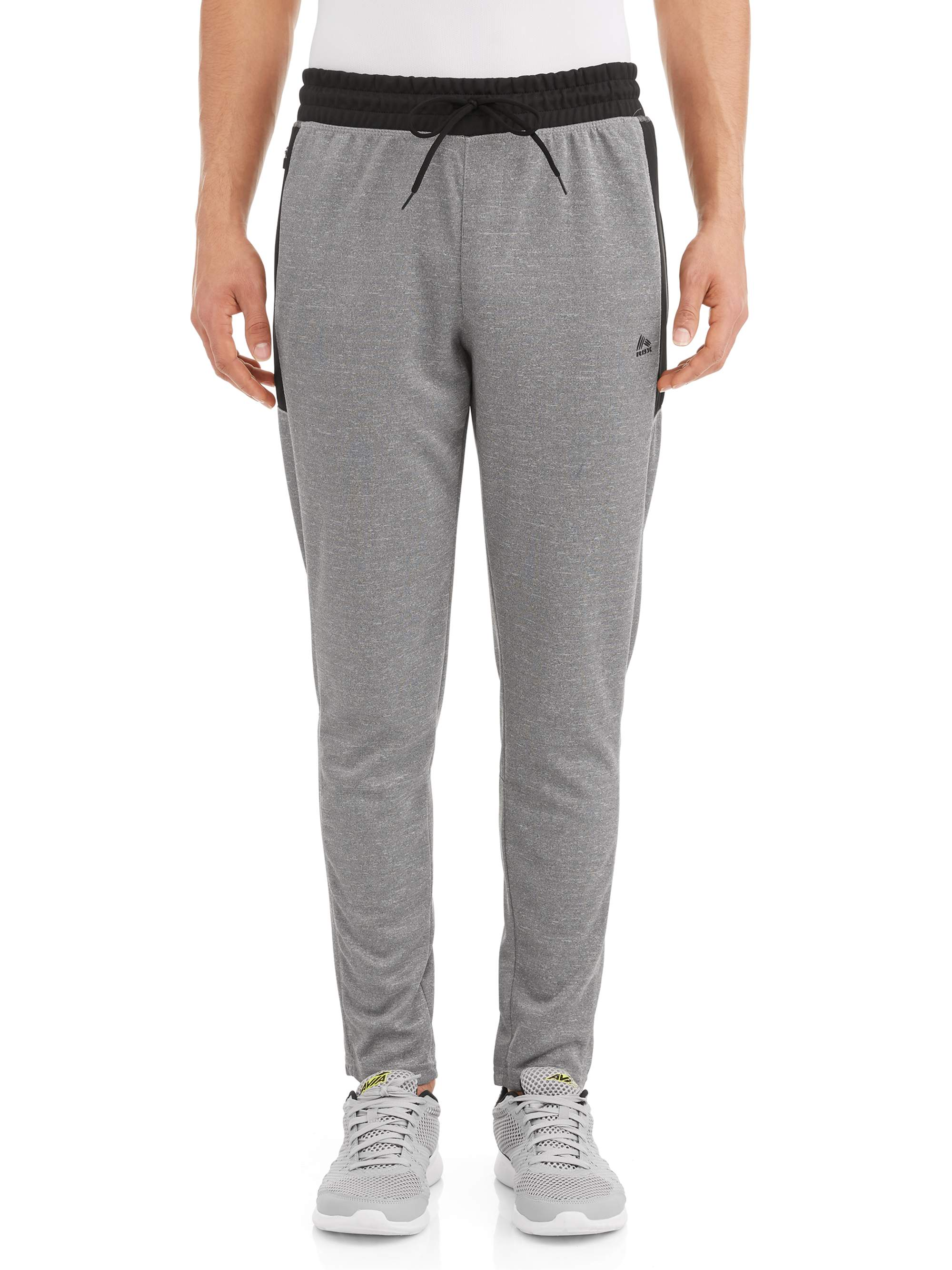 Men's Poly Interlock Tapered Pant with Bonded Zipper