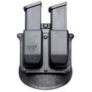 FOBUS DOUBLE MAG PADDLE DOUBLE STACK BLACK PLASTIC