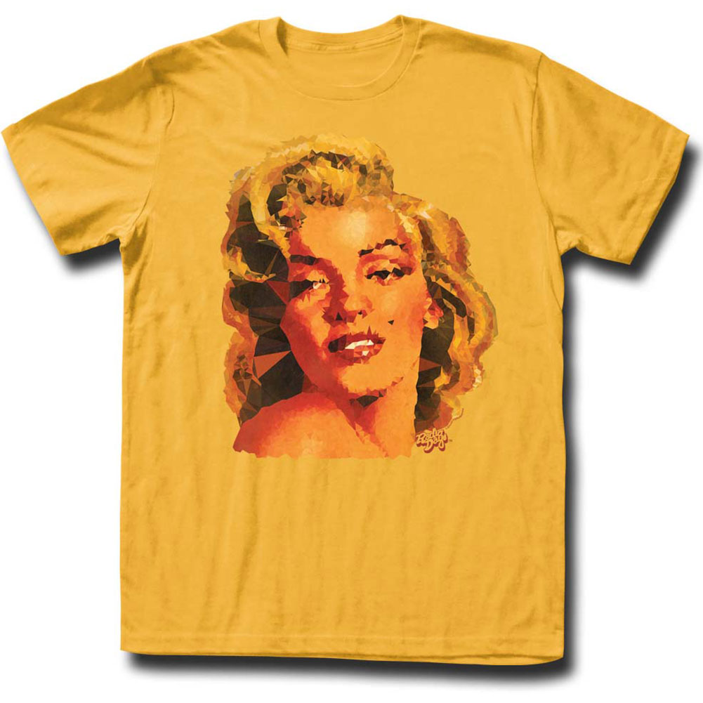 Marilyn Monroe Men's  Geomarilyn T-shirt Ginger