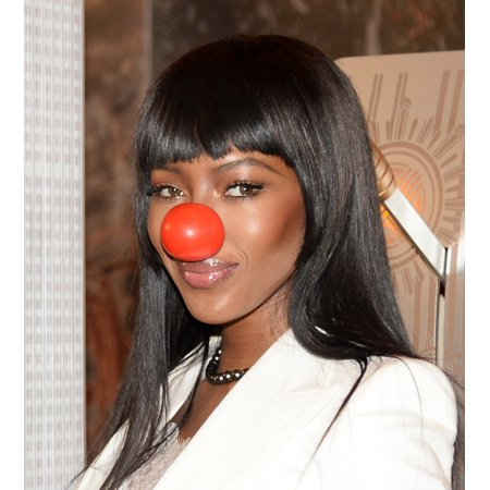 Naomi Campbell At A Public Appearance For Naomi Campbell To Light The Empire State Building In Honor Of Red Nose Day Empire State Building New York Ny May 24 2016 Photo By Eli WinstonEverett Collectio (Empire State Building Halloween Light Show)