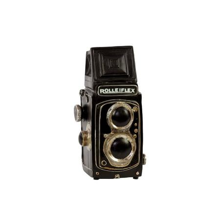 Vintage Styled Dark Polished Creative Resin Camera