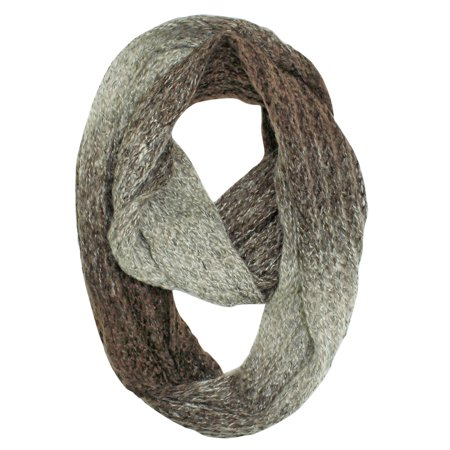 Gradient Ombre Winter Unisex Infinity Circle Scarf