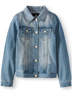 Beverly Hills Polo Club Denim Jacket with Pockets (Little Girls & Big Girls)