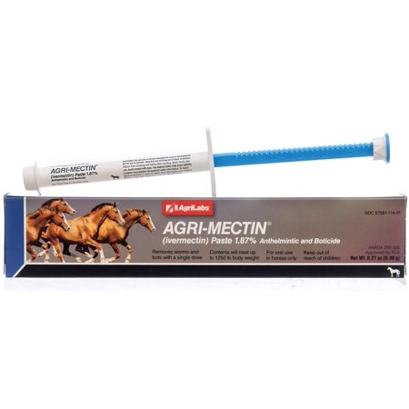 Agri-Mectin Paste ivermectin wormer By Agri Laboratories Ltd