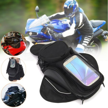 Magnetic Motorcycle Motorbike Oil Fuel Tank Bag Sports Luggage Backpack