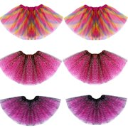 Baby Girls Kid Infant Dancewear Tutu Dancewear Skirt Ballet Dress Clothes 2-8Y