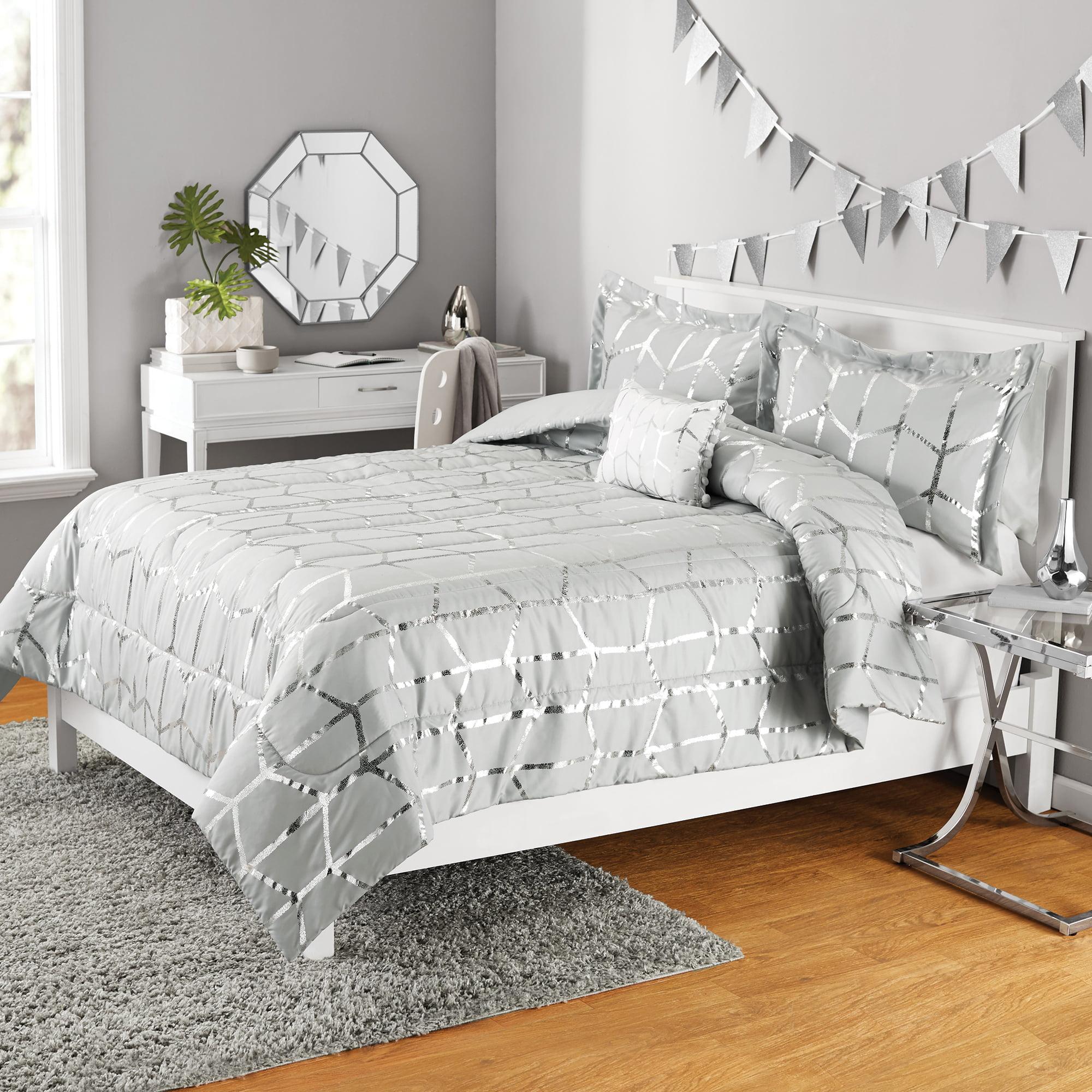silk metallic cover and bedding kevin l white includes brien shams velvet obrien a willow o studio pillow duvet