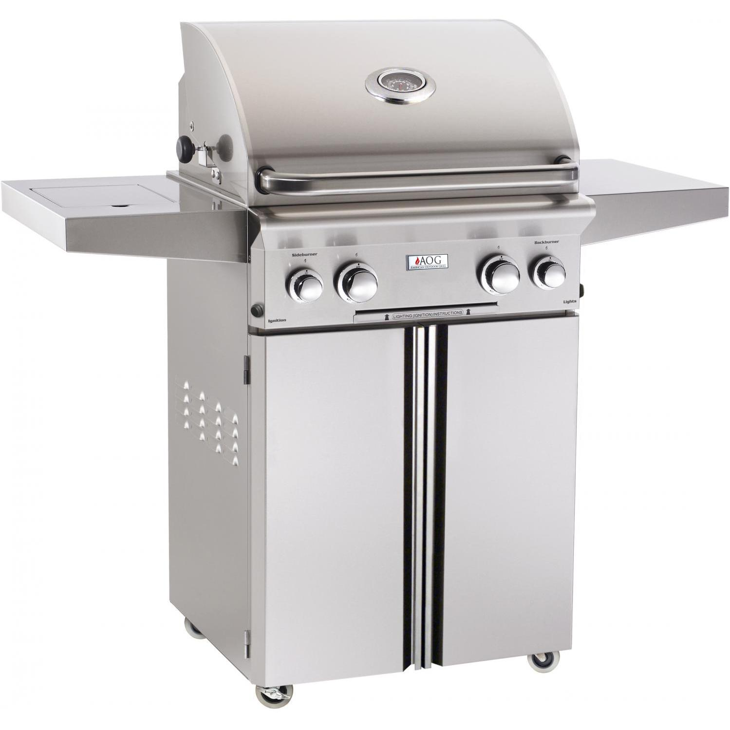 American Outdoor Grill 24PCL-00SP L-Series 24 Inch Propane Gas Grill On Cart