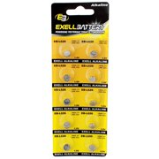 10pk Exell EB-L626 Alkaline 1.5V Watch Battery Replaces AG4 377 LR66