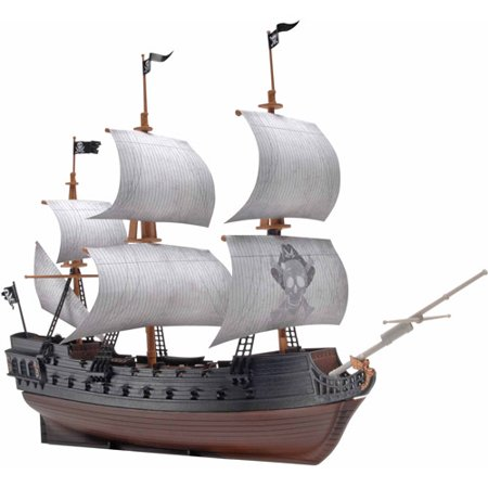 Homemade Pirate Ship Model 40