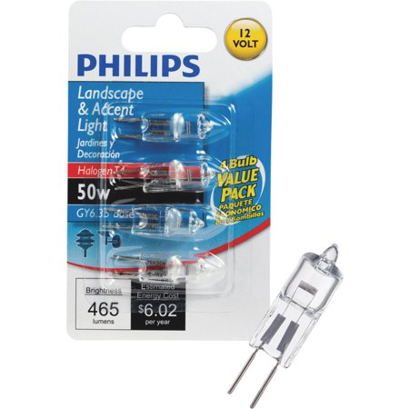 Gy6 35 Bulb (Philips T4 12V GY6.35 Halogen Special Purpose Light)