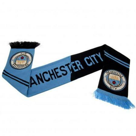 Manchester United Fan Scarf (Manchester City FC - Vertigo Crest)