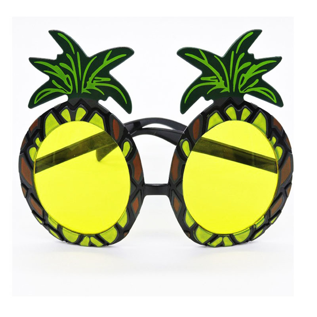 Hawaiian Novelty Sunglasses Summer Beach Festival Party Funny Frames Glasses