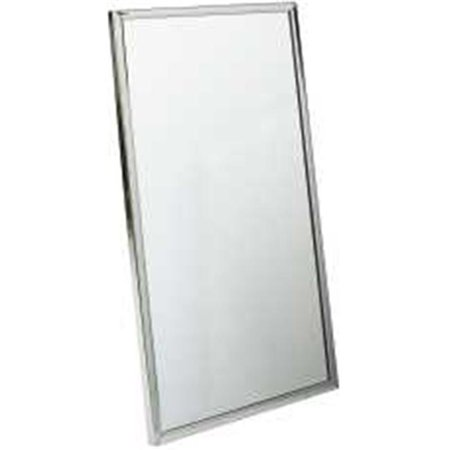 Bradley corporation 553311 bradley channel frame mirror 24 for Bradley mirror